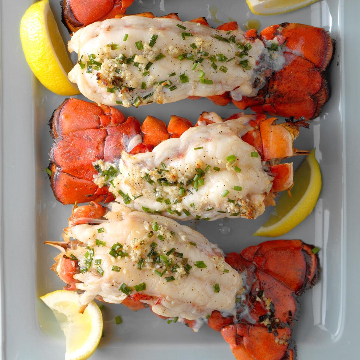 how to bbq lobster tails